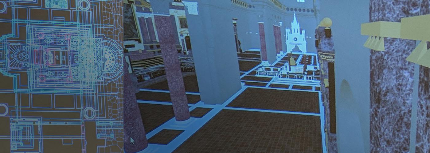 Tech Discussion: 3D Roman Basilica